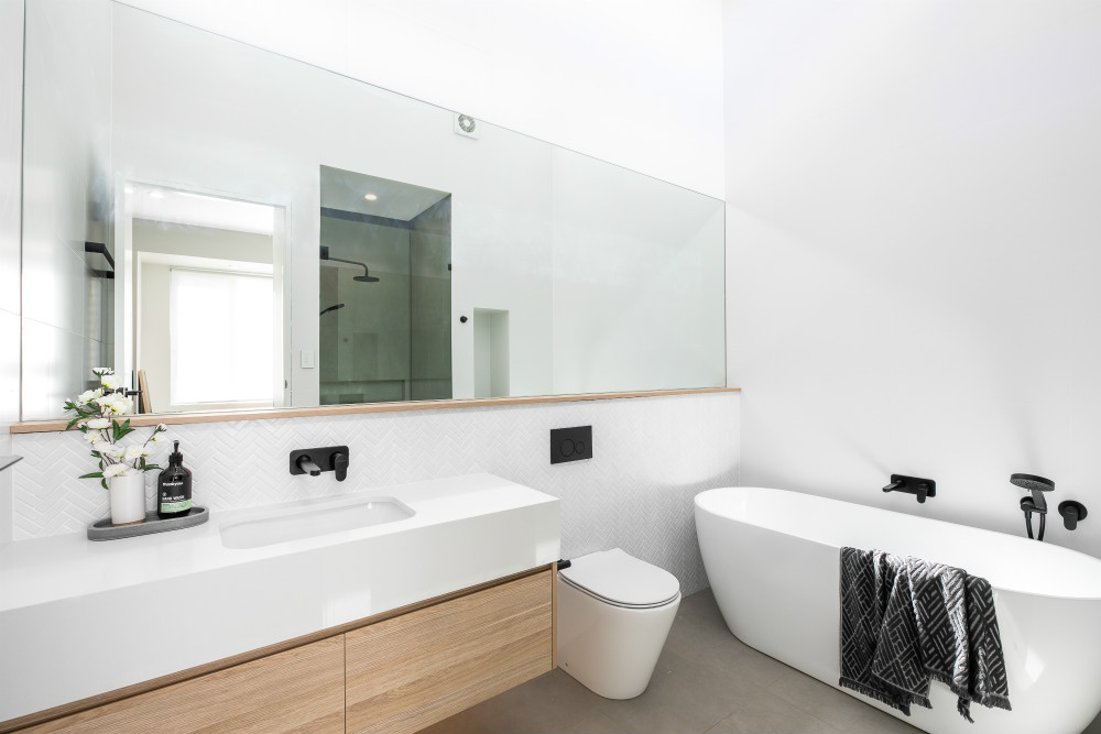 Duplex 28 Dolans Road WOOLOOWARE bathroom builders sutherland shire
