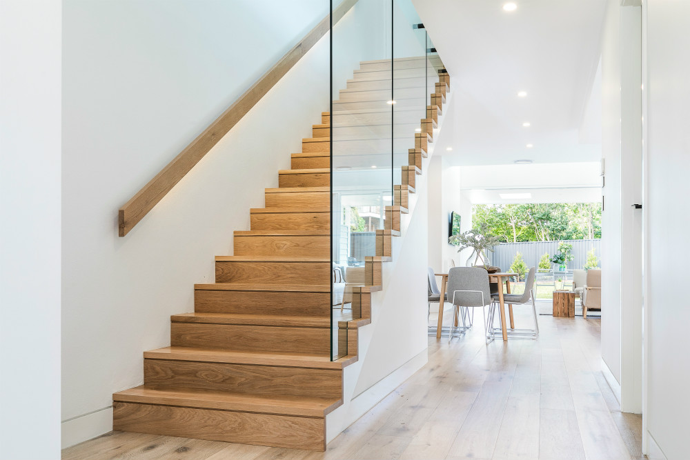 Duplex 28B Dolans Road WOOLOOWARE stairs